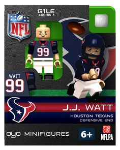 OYO minifigures | 2012-13 NFL Limited Edition
