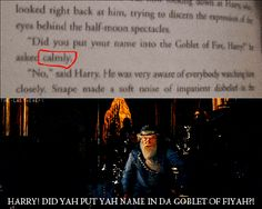 Yep. This is when I began hating the film Dumbledore.
