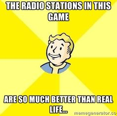 Sad but truth about Fallout