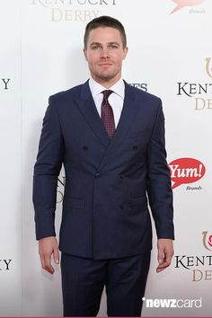 Stephen Amell #KentuckyDerby2015