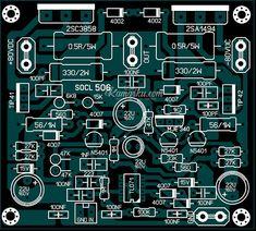 PCB Layout SOCL 506  Amplifire lapangan terbaru Selain dari rangkaian SOCL 506 ini anda juga bisa membandingkan dengan type type terdahulu nya seperti SOCL 502 – 503 – 504 Yang pernah saya posting di artikel sebelum nya,anda bisa membandingkan di setiap type dan karakternya,kalau belum punya silahkan anda buka – buka di artikel lain nya di blog ini,sudah saya post agar koleksi anda bisa lebih lengkap. Circuit Board Design, Diy Amplifier, Subwoofer Box Design, Circuit Diagram, Audio Speakers, Layout Design, Groupes, Audio Amplifier, Electronic Circuit