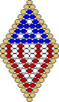 4th of July! - free pattern from Beadwork