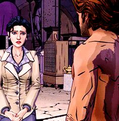 bigby and snow The Wolf Among Us, Comic Panels, Vampires, Star Trek, Cry, Video Games, Gifs, Hearts, Tumblr