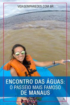 Passeio Encontro das Águas Rio Negro e Solimões, em Manaus; passeios Amazônia;  atrações Manaus Brazil, To Go, Adventure, Trips, Outdoor, Brazil Travel, Travel Guide, Travel Tips, Domestic Destinations
