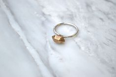 Jex Jewelry - The VAJRA Ring - Reclaimed silver and brass