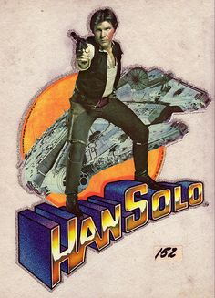 Han Solo.  In Glitter.  1977. (Glitter makes almost anything cooler...!)