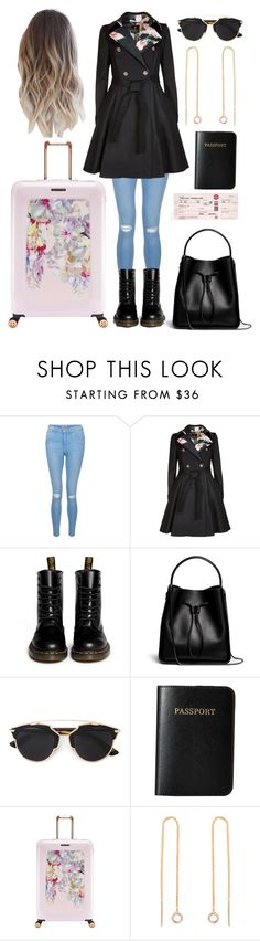 """""""travel ♧"""" by daisy-dreamers on Polyvore featuring New Look, Ted Baker, Dr. Martens, 3.1 Phillip Lim and Vera Bradley"""