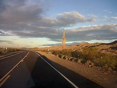 Highway 238 between Maricopa and Gila Bend - Taken by: Jim Wahlgren
