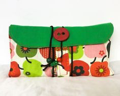 Kulturbeutel - Großer Kulturbeutel zum Rollen - ein Designerstück von Melanies-Handmade bei DaWanda