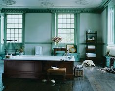 A rustic, beautiful, traditional bathroom. The For Country collection by Michael S Smith. #kallista | KALLISTA.com