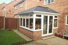 Tiled roof conservatories are fully insulated to help regulate the temperature of your conservatory all year round. Explore our gallery and offers. Conservatory Ideas Sunroom, Conservatory Interiors, Modern Conservatory, Glass Conservatory, House Extension Plans, Cottage Extension, House Extension Design, House Design, Garden Room Extensions