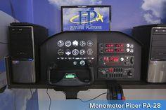 Future Platone, simuladores de vuelo, vuelo virtual, cursos para pilotos de avion