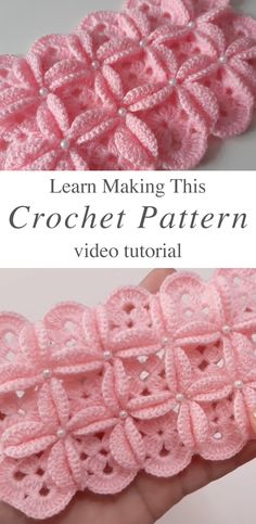 Crochet Pattern For Baby Blanket – Learn how to make this beautiful crochet pattern for baby blanket! This stitch makes the most interesting texture of any patterns I have encountered! My favorite crochet and knit supplies are: Lion Brand Yarn, Clo Crochet Baby Blanket Free Pattern, Crochet Motif Patterns, Knitting Patterns, Crocheted Baby Blankets, Baby Accessoires, Caron Simply Soft, Retro Baby, Baby Knitting, Crochet Projects