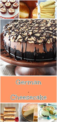 This German Chocolate Cheesecake is delicious! With a chocolate crust chocolate cheesecake and coconut pecan topping it's a gooey wonderful treat! German Chocolate Cheesecake, Coconut Pecan, Convenience Food, Cookie Cheesecake, Cake Cookies, Vegetarian Recipes, Delicious Recipes, Treats, Baking