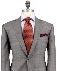 Brioni; dapper as dapper gets, and the symmetry of colors is spot on.