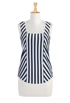 Petite Clothing Online, Outfits For Women Women's designer clothing - Shop Women's Long Sleeve Tops - Tunic Tops, Ladies Tops, Fashion Tops, Plus Size Tops - Petite Fashion, Plus Size Fashion, Petite Clothing Online, Custom Dresses, Custom Clothes, Petite Outfits, Striped Knit, Plus Size Tops, Clothes For Women