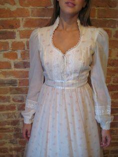 Gunne Sax Dress. Myrtle Dove Vintage