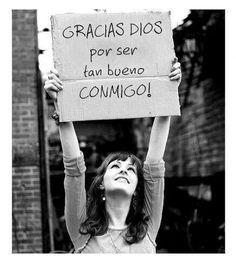 Gracias Dios por ser súper buenísimo conmigo♥