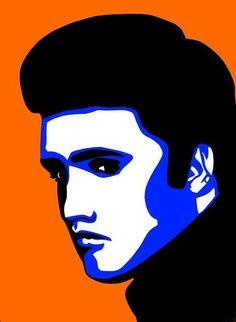 Pop Art Of Elvis Presley Poster By Nikita Ryazanow