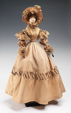 """Henriette Beaujeu   """"1828 Doll""""   French   The Metropolitan Museum of Art I For the French """"Gratitude"""" or """"Merci Train"""", a set of 49 boxcars filled with gifts of thanks for America's Friendship Train of the previous year."""