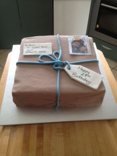 cake for the postie!