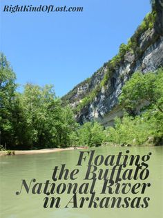 Kayaking the Buffalo National River in Arkansas. The river is part of the National Park Service. The area is great for kayaking, canoeing, hiking, camping, backpacking.