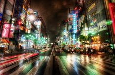 My Twitter and The City Streets of Tokyo by Stuck in Customs, via Flickr