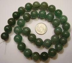 Jade look Natural Aventurine Round Beads strand semiprecious Semi Precious Beads, Green Aventurine, Round Beads, Gemstone Beads, Jade, Glass Beads, Gemstones, Crystals, Natural