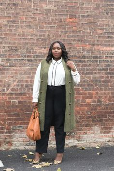 How To Create Stylish Plus Size Work Outfits With Top Fall Trends
