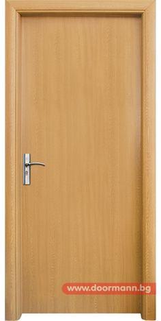 Интериорна врата - Код 030, Цвят Светъл Дъб