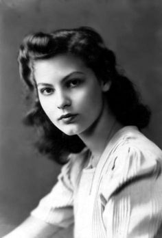 A very young Ava Gardner