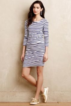 Sundry Crew Stripe Dress #anthrofave