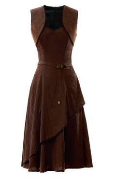 Brown dress  - kinnnnda love this