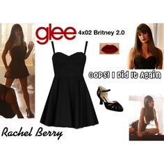 Designer Clothes, Shoes & Bags for Women Estilo Rachel Berry, Rachel Berry Style, Glee Fashion, Fandom Fashion, Film Fashion, Choir Dresses, Nice Dresses, Sexy Dresses, Glee Wedding