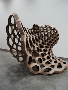 "Pratt Institute School of Design – Parametrics class blog - ""Brainchild"" Documentation ~ETS #sculpture"