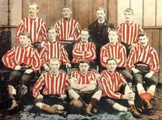 Sunderland are crowned champions of the Football League, and reach the FA Cup semi-finals. They become known as The Team of all the Talents. Sunderland Football, Sunderland Afc, Fa Cup Final, Semi Final, School Football, Football Kits, Family History Book, History Books, Image Foot