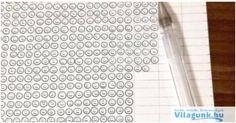 Egy ráérős ember kipróbálta, hogy hány szmájlit lehet írni egy golyóstollal. Szerinted mennyit? Word Search, Words