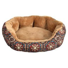 Boots & Barkley Oval Pet Bed Small