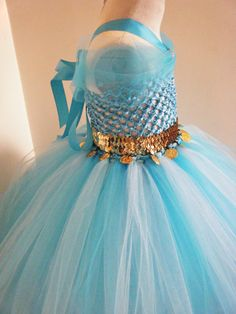Princess Jasmine Inspired Tutu Dress