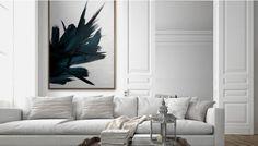 PICTOCLUB, Dark Quarz Oil On Canvas - LuxDeco.com
