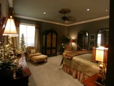 1000 images about para o lar doce lar on pinterest quartos quarto de casal and quarto casal - Elegant master bedroom design ideas packing comfort in luxury ...