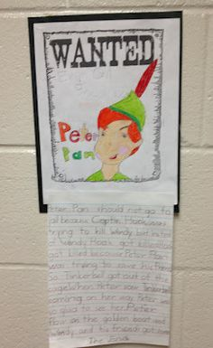 Persuasive Writing on Peter Pan