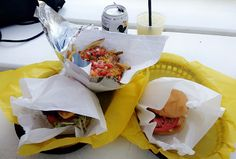 Off-Site Kitchen cheeseburgers and sloppy cheese fries   Trinity Groves   #Dallas