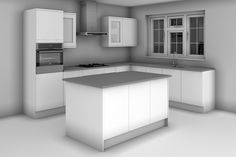 L Shaped With Island Kitchen Design http://advice.diy-kitchens.com/customer-questions/kitchen-designs-layout/