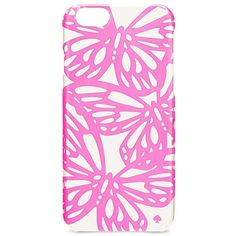 Kate Spade New York Butterfly iPhone 6 Case ($40) ❤ liked on Polyvore