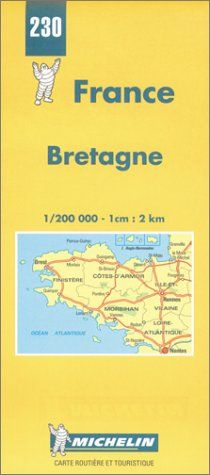 Telecharger Carte Routiere Bretagne In 2020 World Of Books