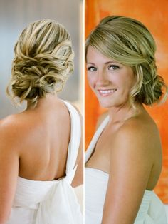 Wedding hairstyles with braids are a hot trend now. Both the bride and bridesmaids can try the braided hairstyle for the big day. Braids can be incorporated into many different types of bridal hairstyles including all down, updo and ponytailREAD Braided Hairstyles For Wedding, Up Hairstyles, Pretty Hairstyles, Bridesmaid Hairstyles, Braided Updo, Style Hairstyle, Bridal Hairstyles, Headband Hairstyles, Wedding Hair And Makeup