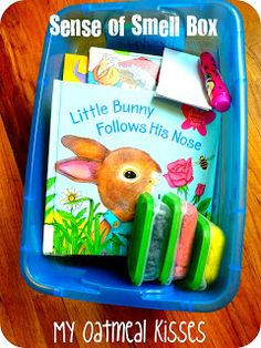 While we were learning about our Five Senses,   I made M.'s Quiet Time Boxes  go along with that same theme.         It was fun for her, to...