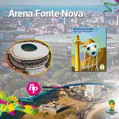 #Brasil2014 || Conoce el Arena Fonte Nova  + Poster + Ciudad + Partidos que albergará  >>http://goo.gl/SuOSWg