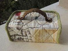flor de minuto: Tutorial estuche guardahilos Sewing Hacks, Sewing Tutorials, Sewing Projects, Sewing Case, Free Stuff By Mail, Bazaar Ideas, Fabric Boxes, Diy Purse, Big Bags